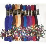 Darks 12/Pkg - Zenbroidery Stitching Trim Pack