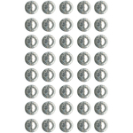 Clear - Bling Self-Adhesive Round Jewels 12mm 40/Pkg