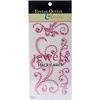 Pink - Bling Self-Adhesive Jewel Swirls 468/Pkg
