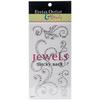 Clear - Bling Self-Adhesive Jewel Swirls 468/Pkg
