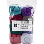 """Vintage - Wool Roving 12"""" .25oz 8/Pkg"""