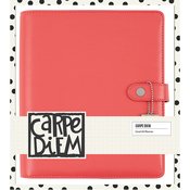 Coral Carpe Diem Empty A5 Planner - Simple Stories
