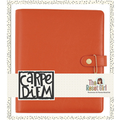 Persimmon Reset Girl Carpe Diem A5 Planner Boxed Set - Simple Stories