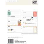 Planner Essentials Horizontal Format Weekly Inserts A5 - Simple Stories