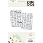 Planner Essentials Clear Labels - Simple Stories