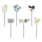 Posh Decorative Clips - Simple Stories