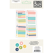 Posh Calendar Stickers - Simple Stories