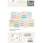 Posh 2016-2017 Mini Monthly Calendar Stickers - Simple Stories