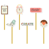 The Reset Girl Decorative Clips - Simple Stories