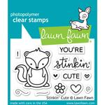 Stinkin Cute - Clear Stamps - Lawn Fawn