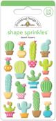 Desert Flowers Shape Sprinkles - Doodlebug
