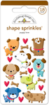 Puppy Love Shape Sprinkles - Doodlebug