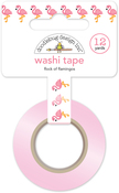Flock Of Flamingos Washi Tape - Doodlebug