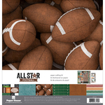 "Football - Paper House Paper Crafting Kit 12""X12"""