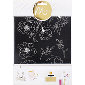 "Floral - Minc Art Screen 6.5""X8.5"""