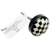 Checker Board - Heritage Hardware Plastic Knob