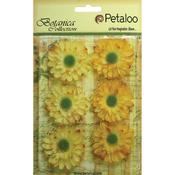 "Yellow - Botanica Gerbera Daisies 1.75"" 6/Pkg"