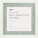 """White - Kaisercraft Frame 12""""X12"""""""
