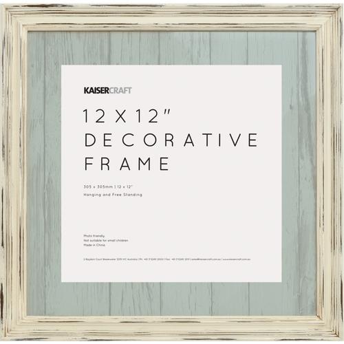 KaiserCraft > Frames > Antique White Distressed - Kaisercraft Frame ...
