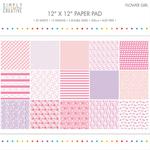 "Flower Girl - Simply Creative Paper Pad 12""X12"" 20/Pkg"
