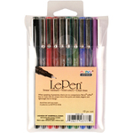 Assorted Colors - Le Pen Dark Set 10/Pkg