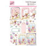 Shopping For Cake - Anita's A4 Foiled Decoupage Sheet