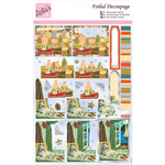 Harbourside - Anita's A4 Foiled Decoupage Sheet