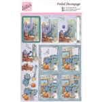 The Potting Shed - Anita's A4 Foiled Decoupage Sheet