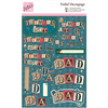 For Dad - Anita's A4 Foiled Decoupage Sheet
