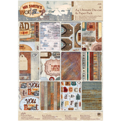 Mr. Smith's Workshop - Papermania Ultimate A4 Die-Cuts & Paper Pack 48/Pkg