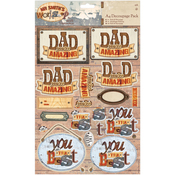 Papermania Mr. Smith's Workshop A4 Decoupage Pack