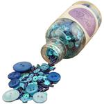Winter Blues - 28 Lilac Lane Embellishment Bottle Kit
