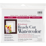"""10 Sheets - Strathmore Watercolor Paper Pack 8""""X10"""""""