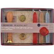 Quill, Christmas, Heart Coins - Design Sealing Set 3 Coins
