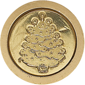 Christmas - Long Handled Design Christmas Seal