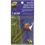 Amber Stone - LoRan Shawl Pin