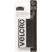"""Black - VELCRO(R) Brand Industrial Strength Extreme Fasteners 4""""X2"""""""