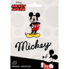 Mickey Mouse Body W/Script - Disney Mickey Mouse Iron-On Applique Simplicity-Disney Mickey Mouse Iron On Applique: Mickey Mouse Body With Script. The perfect decorative addition to a wearable garment or a craft project. They come in a variety of sizes and styles. Great for towels, blankets, pillows, purses, scrapbooks, backpacks, aprons, jackets, pants, t-shirts, costumes, baby clothes and so much more! This package contains two iron on appliques measuring between 2x1-1/4 inches and 7/8x3 inches. Not for use on delicate fabrics. Imported.