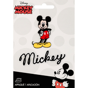 Mickey Mouse Body W/Script - Disney Mickey Mouse Iron-On Applique