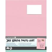 "Pink - Dry-Erase 8""X10"" Photo Mat Holds 2""X3"" Photo"