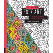 Just Add Color - Folk Art - Rockport Books