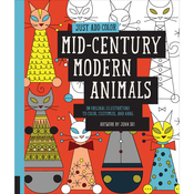 Mid Century Modern Animals - Rockport Books