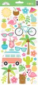 Fun In The Sun Icon Stickers - Doodlebug