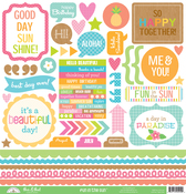 Fun In The Sun This & That Sticker Sheet - Doodlebug