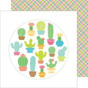 Paradise Plaid Paper - Fun In The Sun - Doodlebug