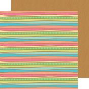 Surf Stripe Paper - Fun In The Sun - Doodlebug