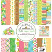 Fun In The Sun Paper Pack - Doodlebug