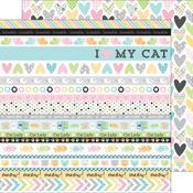 Calico Crush Paper - Kitten Smitten - Doodlebug