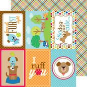 Plaid To The Bone Paper - Puppy Love - Doodlebug