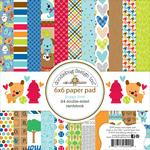 Puppy Love 6 x 6 Paper Pad - Doodlebug